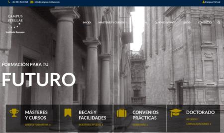 Nueva Web del Campus Stellae