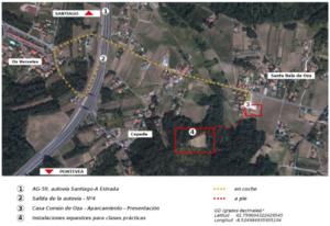 Plano ubicación curso de doma