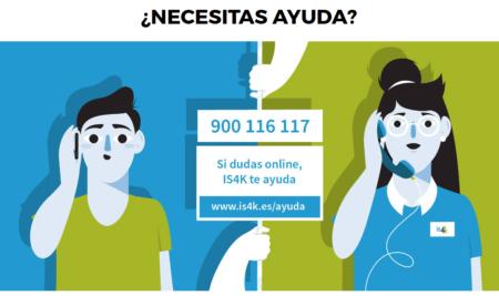Teléfono de ayuda sobre ciberseguridad para menores: 900 116 117