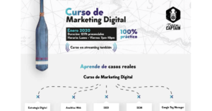 Curos de Marketing Digital - Presencial en Santiago - Excuse Me Captain - Campus Stellae