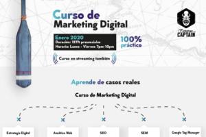 Curos de Marketing Digital – Presencial en Santiago – Excuse Me Captain – Campus Stellae