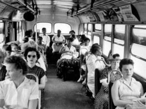 Rosa Parks - Foto autobús segregado