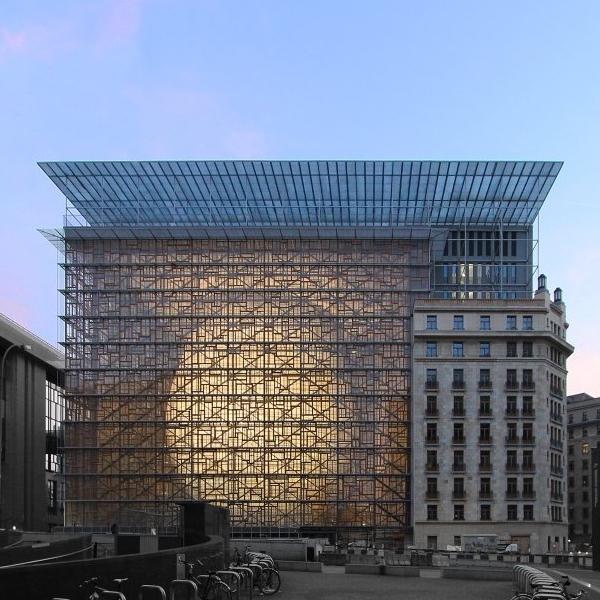 Edificio Europa - Sede del Consejo Europeo