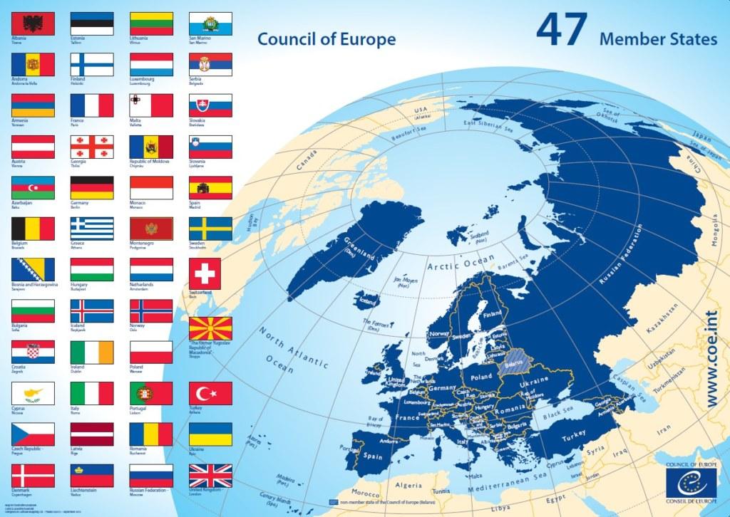 Estados Miembros del Consejo de Europa