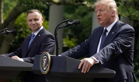 Trump traslada parte de sus tropas de Alemania a Polonia