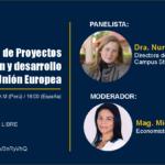 Evento Financiación de Proyectos en colaboración y desarrollo con la Unión Europea